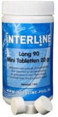 Interline chloortabletten 20gram Long-90 verpakt in pot van 1Kg