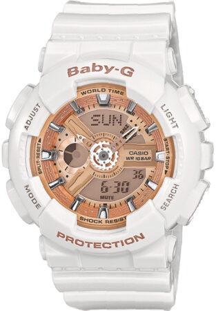 Afbeelding van Casio Baby-G Casio BA-110-7A1ER - Horloge - 44 mm - Kunststof - Wit