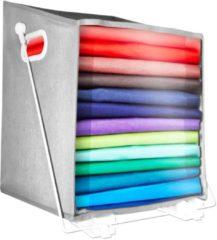 Blauwe Bulbhead Closet Caddy, gemakkelijk opbergen met deze opbergbox met hefstangsysteem – plankobergsysteem