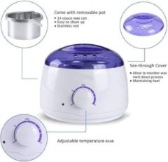 Witte DW4Trading® Waxheater voor ontharing 230V 100W 400ml