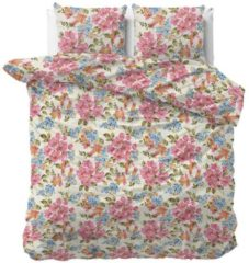 Dreamhouse Bedding Mystic dekbedovertrek - 100% katoen-satijn - Lits-jumeaux (240x200/220 cm + 2 slopen) - Pink