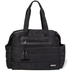 Zwarte Skip hop Riverside Ultra Light Diaper Satchel - Black