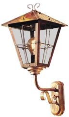 Konstsmide Fenix Up 433-900 Buitenlamp (wand) Energielabel: Afhankelijk van de lamp Spaarlamp, LED E27 100 W Koper