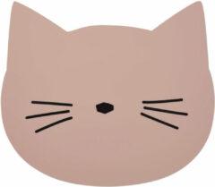 Liewood Aura Cat Placemat 38 x 33 cm - Roze