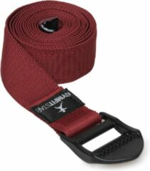 Bordeauxrode Yoga riem voor Yoga, Pilates & Fitness - PB 210cm bordeaux Yoga riem YOGISTAR
