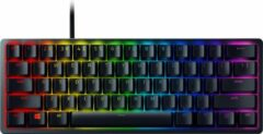 Razer Huntsman Mini Mechanisch QWERTY Gaming Toetsenbord - Paarse schakelaar - Zwart