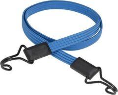 Blauwe MasterLock Platte snelbinder - Met dubbele haak - 120cm x 18mm - 3227EURDAT