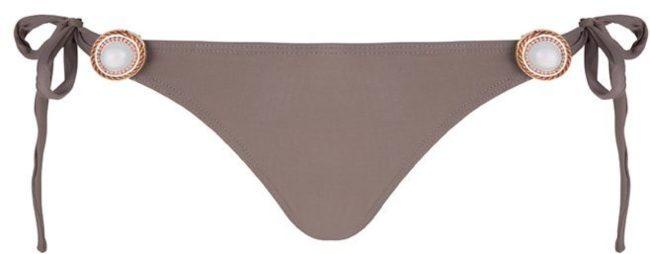 Afbeelding van LGT Bikini Boho bikini broekje Brazilian Taupe