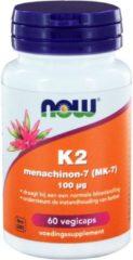 Vitamina K2 Menachinon 100 mcg (60 caps veggie) - Now Foods