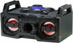 Denver BTB-60 - Draagbare speaker met Bluetooth en LED lichteffecten - Zwart