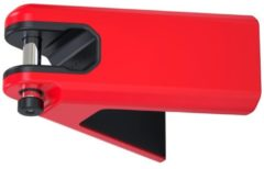 Rode Hiplok Airlok Wall Mounted Lock & Hanger Red - Grondankers