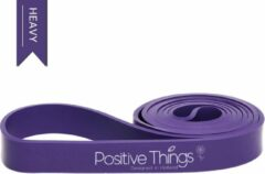 Paarse Positive Things Fitness Elastieken - Weerstandsbanden - Powerbands Zwaar - Fitness Elastiek