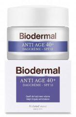 Biodermal Dagcreme Anti Aging 40 Anti Rimpel Creme Huidveroudering Rimpels Voorkomen