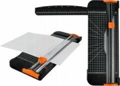 Oranje Merkloos / Sans marque Papier Snijmachine - Hendel A3/A4 Rolsnijmachine Rolsnijder - Foto Snijder Snij-Apparaat
