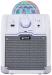 Gemini MPA-500 W Bluetooth speaker met LED lichtshow Wit