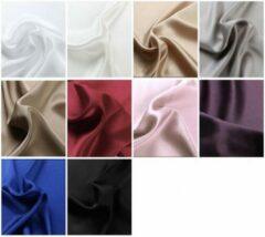 Silkmood Zijden hoeslaken, 100% zijde, 405thread count (19momme), Koffie melk 140x200cm