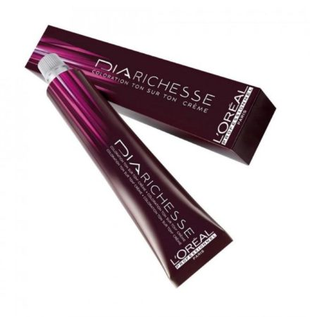 Afbeelding van L'Oréal Paris Loreal Semi-permanente Haarkleuring - Dia Richesse Color Creme Zwart 5.32 - 50ml