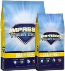 Impress your dog Grain Free Geperste Brok 12,5KG