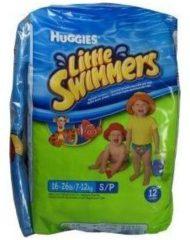 Huggies Little Swimmers Zwemluiers 3-4 12-Luiers