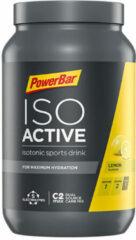 Gele PowerBar Isoactive sportdrankmix 1,32kg - Energie- & hersteldrank