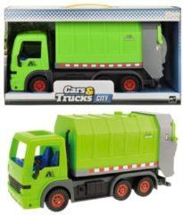 Huismerk Toi-Toys Speelgoed Vuilniswagen - 33 cm