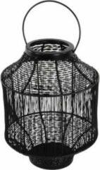Lesliliving Lantaarn Wire ø20x26cm | Zwart | Lesli Living