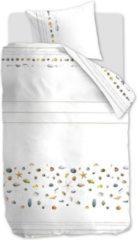 Witte Marjolein Bastin Shellfish Dekbedovertrek - Lits-jumeaux (240x200/220 Cm + 2 Slopen) - Katoen - White