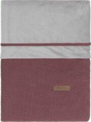Donkerrode Baby's Only Dekbedovertrek Classic - Stone Red - 100x135 cm