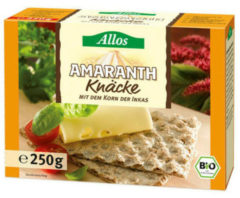 Allos Knackebrod amarant 250 Gram