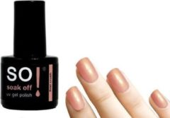 Roze So! Soak Off - Gel nagellak - First Crush - 8ml