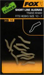 Kaki Fox Edges Micro Line Aligner - Maat 10-7