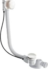Xenz badafvoer-/overloopcombinatie met vulmogelijkheid mat wit
