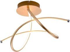 Leuchten Direkt Leuchten Direct - Plafondlamp - 1 lichts - L 500 mm - Goud/messing