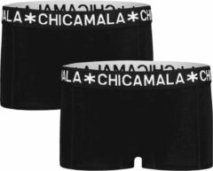 Chicamala Muchachomalo Meisjes ondergoed Muchachomalo GIRLS BOXER 2-PACK zwart 176