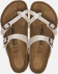 Birkenstock Mayari Graceful parel wit regular slippers dames (S) (071661)