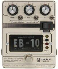 Walrus Audio EB-10 Cream Preamp / EQ / Boost effectpedaal