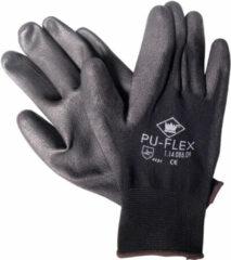 Universeel Handschoenen Pu-Flex zwart maat 10 (XL)