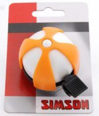 Simson fietsbel Sport 50 mm oranje/grijs