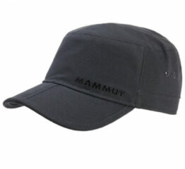 Mammut - Lhasa Cap - Pet maat S-M zwart