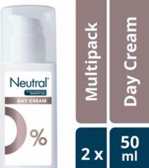 Neutral 0% Gezichtscrem Parfumvrij - 50 ml - Gezichtsverzorging