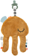 Done by Deer Cozy friend Jelly Mustard speen knuffel 18 cm