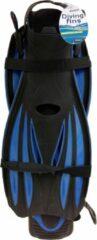 Blauwe Sportx Zwemvliezen Unisex Zwart Maat 44/48