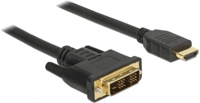 Afbeelding van Goobay Premium DVI-D Single Link - HDMI kabel / zwart - 10 meter