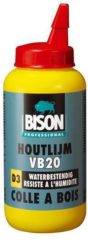 Transparante Bison Prof houtlijm waterbestendig VB20 D3 (750gr)