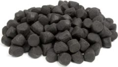 Zwarte Tasty Baits Coppens Halibut Base Pellet - 20kg - 20mm