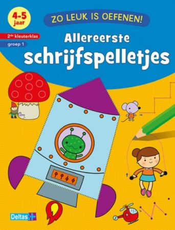 Afbeelding van Zuid-Nederlandse Uitgeverij N.V. / Centrale Uitgeverij Boek Zo Leuk Is Oefenen Schrijfspelletje
