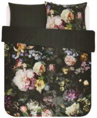 Essenza Fleur dekbedovertrek - 100% katoen-satijn - 2-persoons (200x200/220 cm + 2 slopen) - 2 stuks (60x70 cm) - Groen