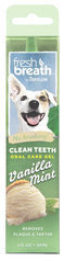 TropiClean - Fresh Breath OralCareGel Kit Vanilla Mint - Dog - 59 ml