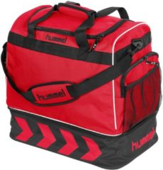 Hummel Pro Bag Supreme Sporttas - rood/zwart - Hummel Pro Bag Supreme Sporttas - navy blue/zwart - 50 x 48 x 32 cm