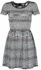 Grijze Korte jurk Manoush BIJOU ROBE